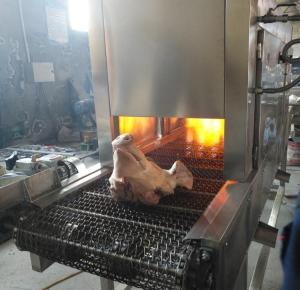 猪蹄烧毛机猪头液化气烧毛机肉制品燎毛设备