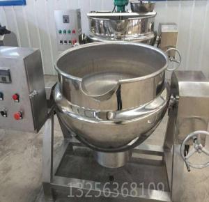 百冠现货销售电加热不锈钢夹层锅