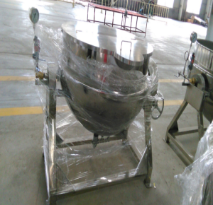 百冠耐高温导热油电加热夹层锅