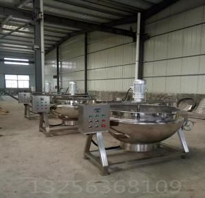 百冠质量上乘 600升蒸汽夹层锅