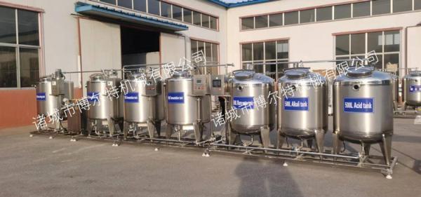 乳品加工生产线